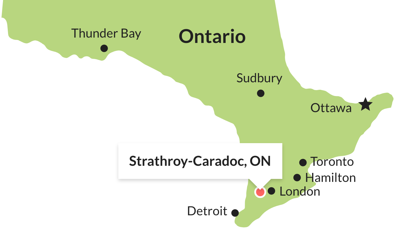 strathroy map